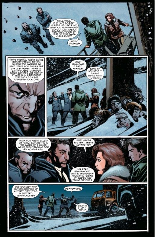 Tom Mandrake Talks X-Files/30 Days of Night - Steve Niles ...