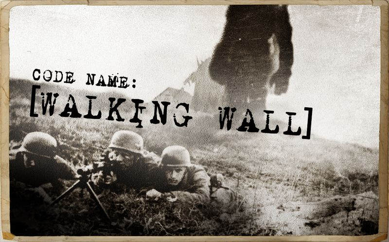 Walking wall